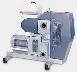Huckepack - once-through lubricated Rotary Vane Vacuum Pumps