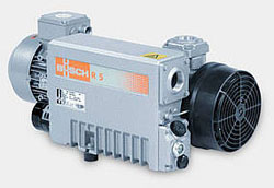 R 5 - oli- recirculating Rotary Vane Vacuum pump